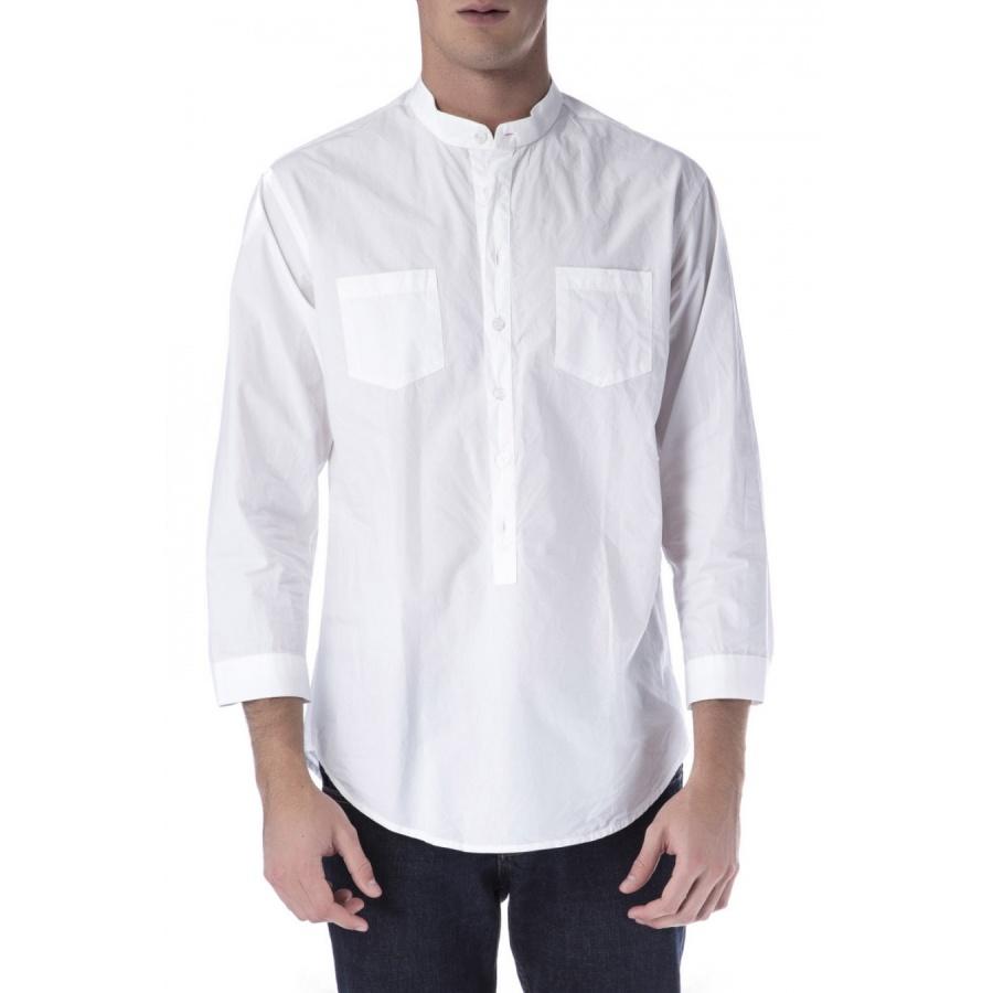 camisa cuello mao: